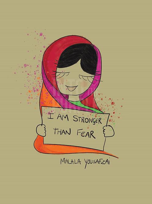 Malala Yousafzai - Wall Art Print