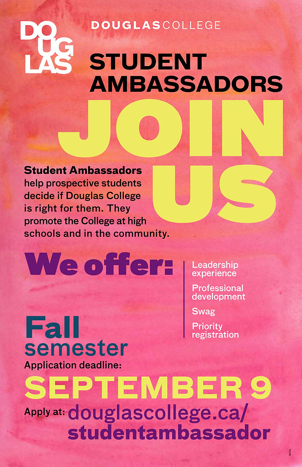 18-256 Poster - Student Ambassador Progr