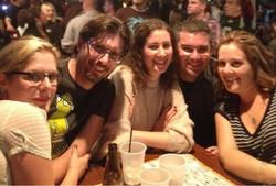 Celebrating Dan's birthday 2012