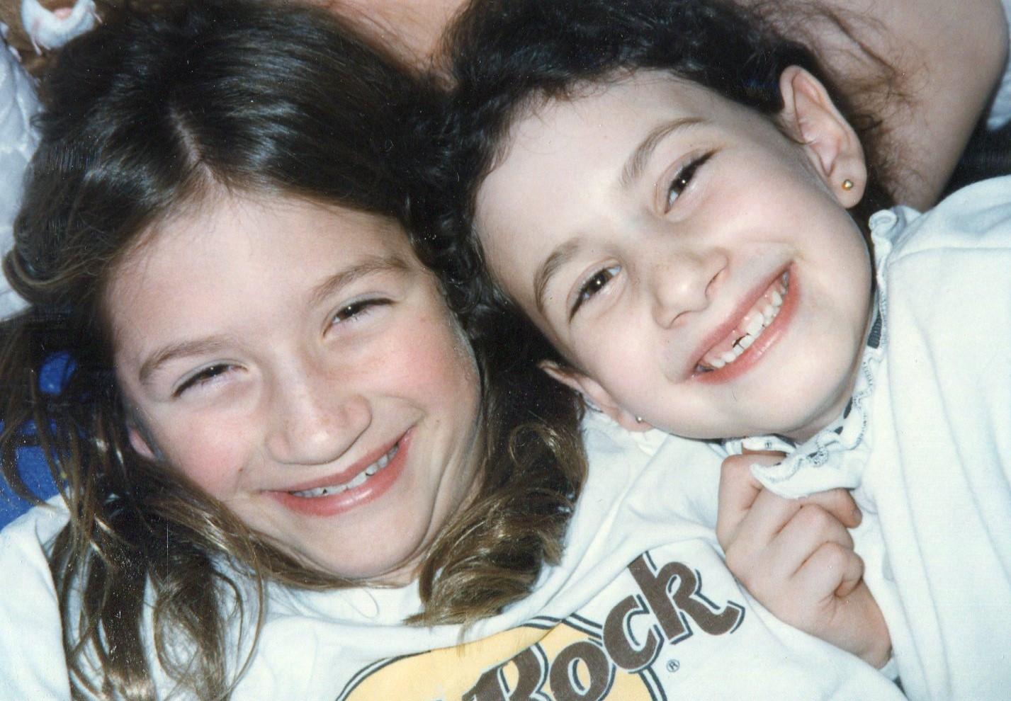 cousin Lizzie with Dora.jpg