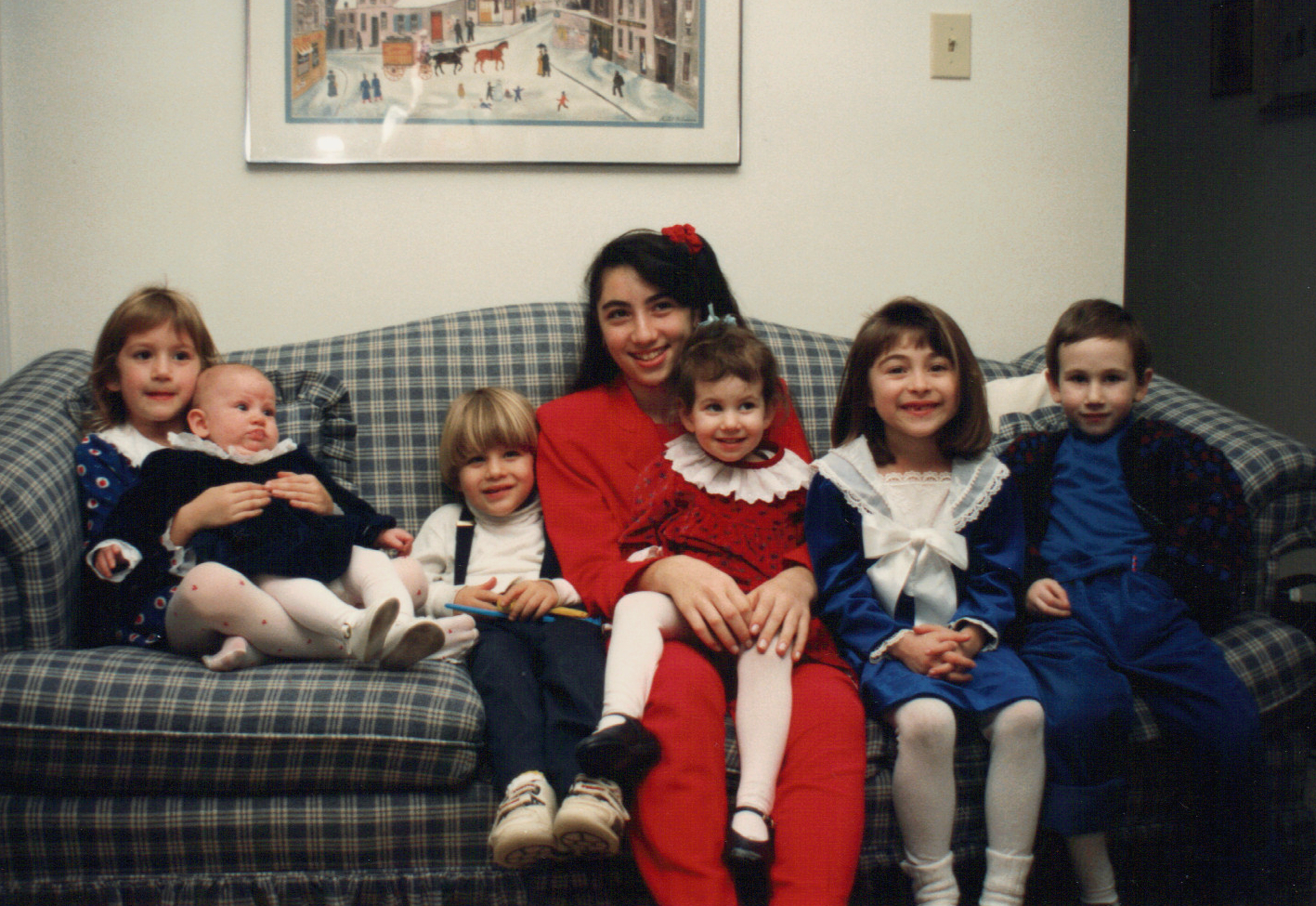 with cousins 1990