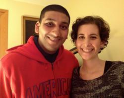 with Kavish Dec. 2013