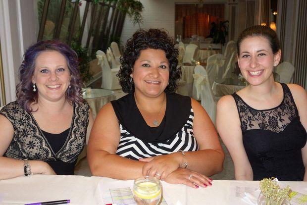 with Staci and Lisa