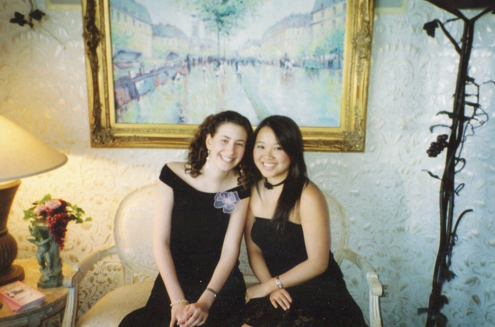 with Shirley 2003