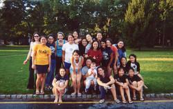 MHS volleyball team 2003