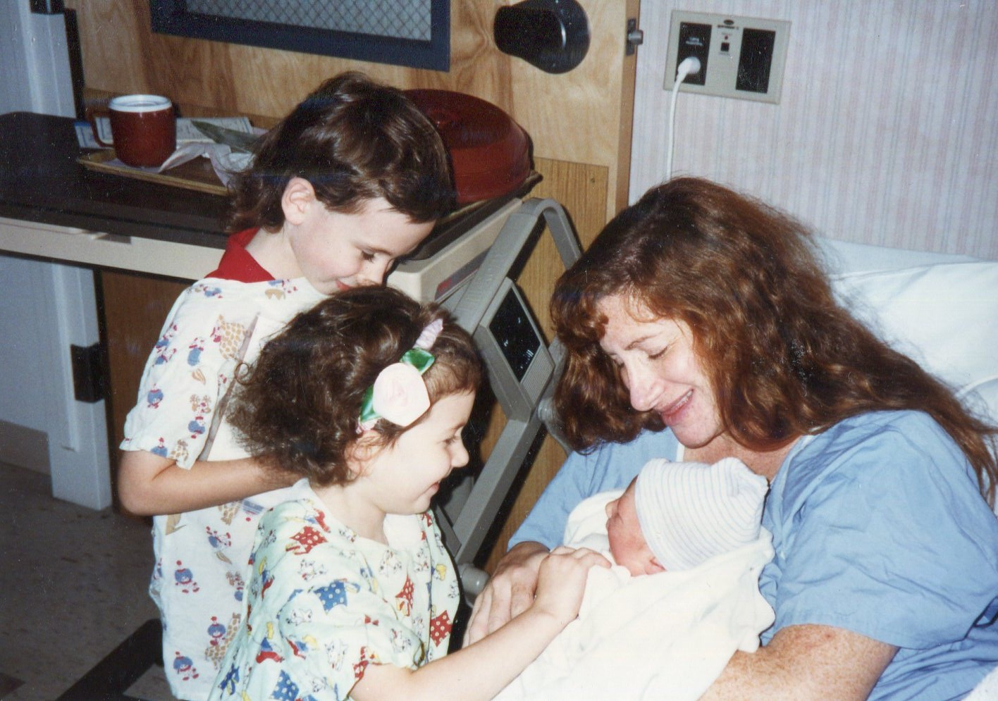 1992 became a big sister