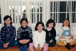 with Hilton, Lizzie, Tania, Emily