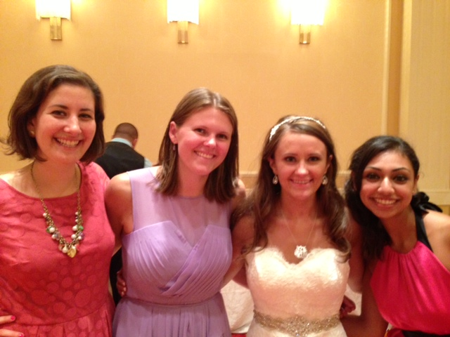 with Kelsey, Alison, and Marlene