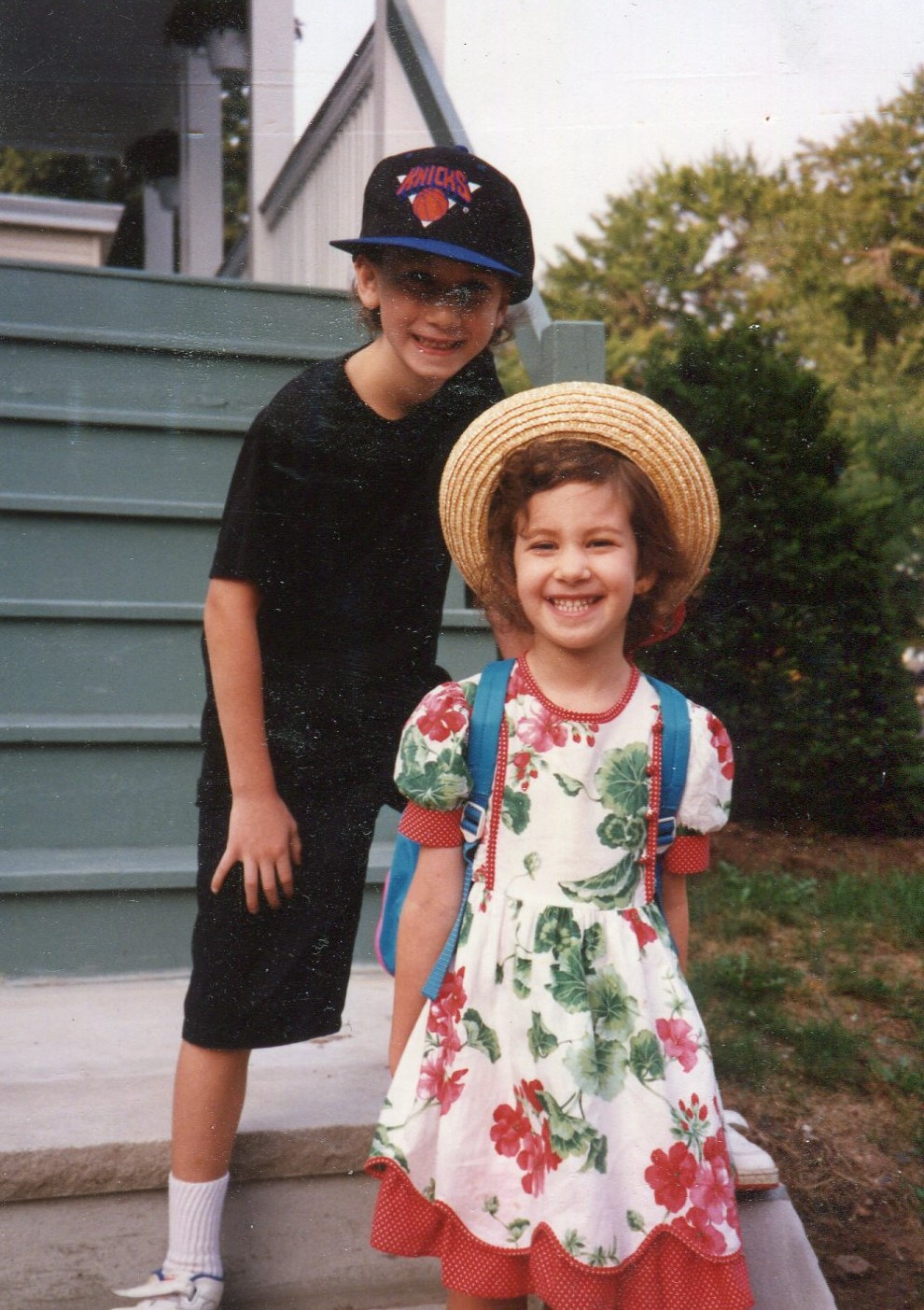 1st day of Kindergarten with Hilton