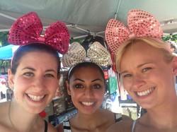 with Marlene and Christine