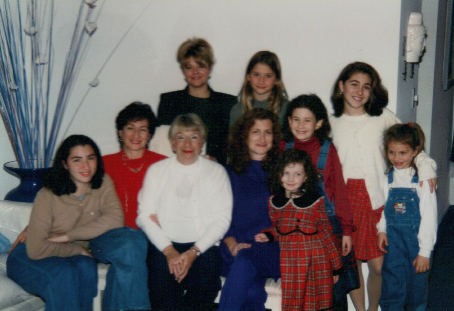 with lots of family 1996