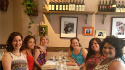 Summer 2013 -- out to dinner in NYC