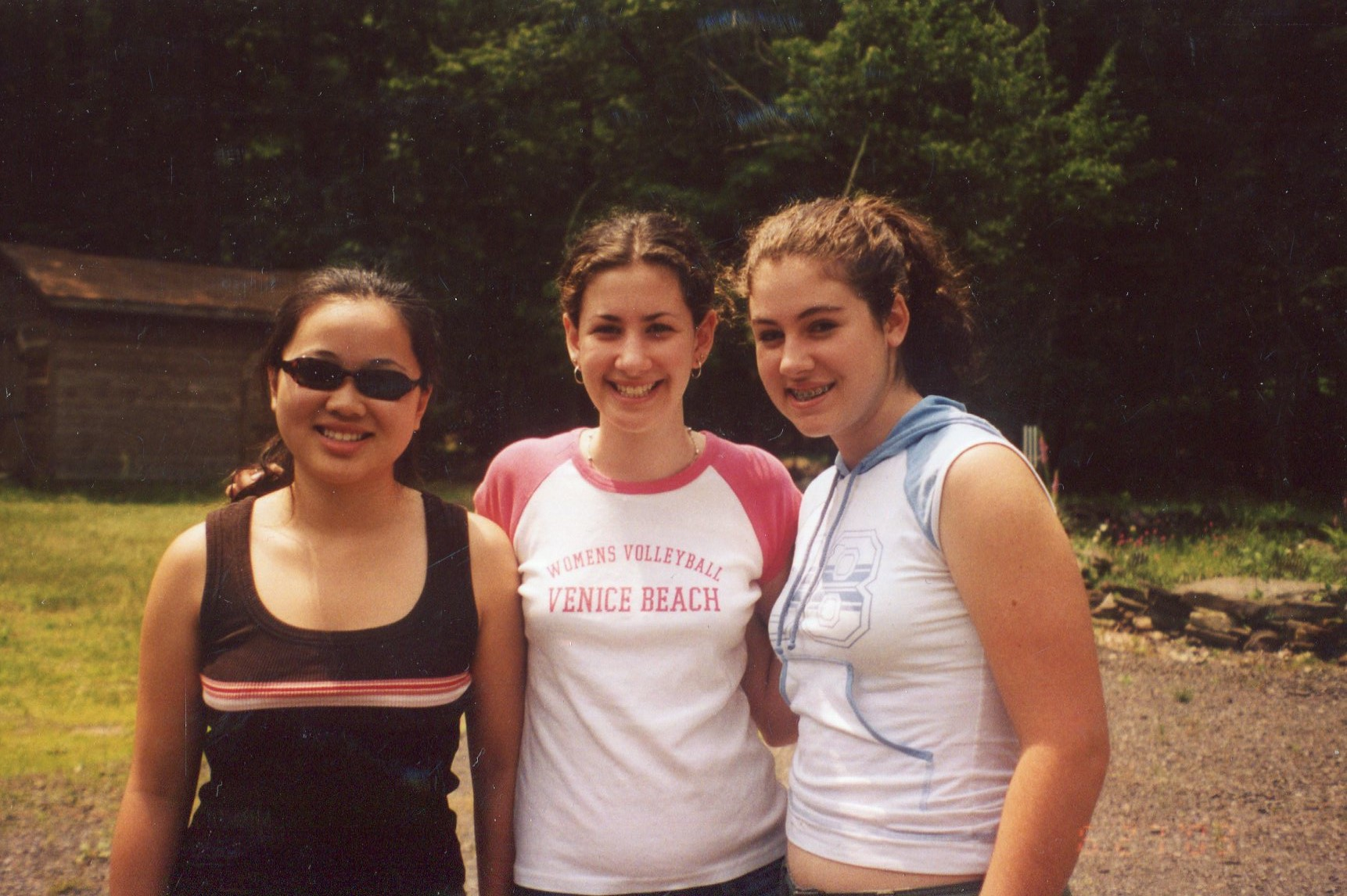 2003 with Shirley and Caity