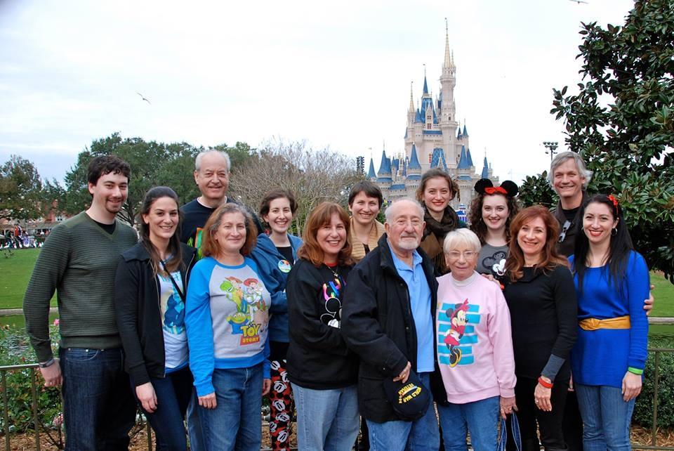 January 2014 family at Disneyworld