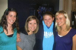 With Kristin, Kelsey, and Christine