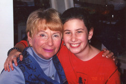 with Grandma Eileen