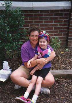 with nursery school teacher Toby