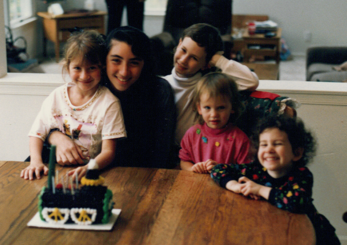 1992 with Hilton and cousins