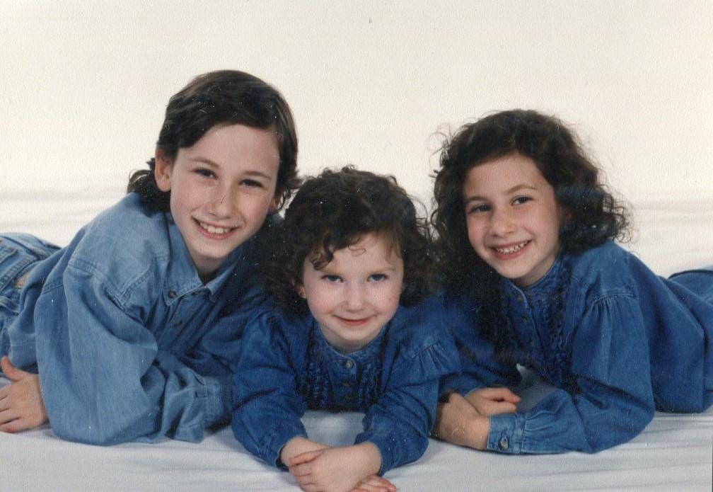 with siblings