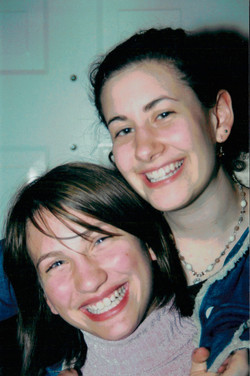 with cousin Emily 2005