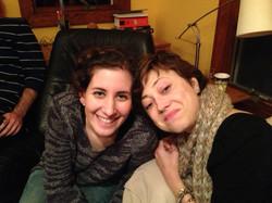 with Marissa Dec. 2013
