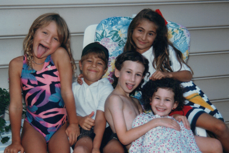 with Lizzie, Tyler, Rachel, Hilton