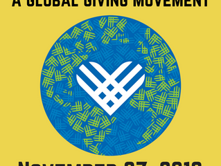 Please remember us on Giving Tuesday