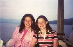 2004 with Rachel at Lake George
