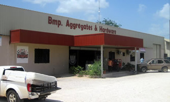 Our system is now on display at Belmopan aggregates and hardware