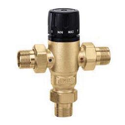 Caleffi temperature control mixing valve