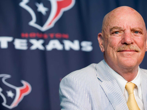 Late Texans Owner Bob McNair to be Honored with 2020 Lifetime Achievement Award