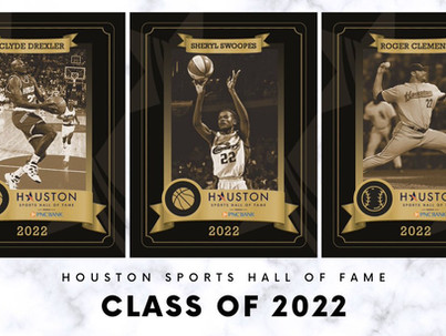Houston Sports Hall of Fame Class of 2022