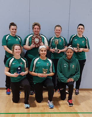 Double winning indoor team 2018