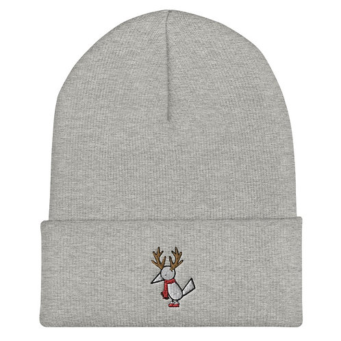 Gray Holiday Muli beanie