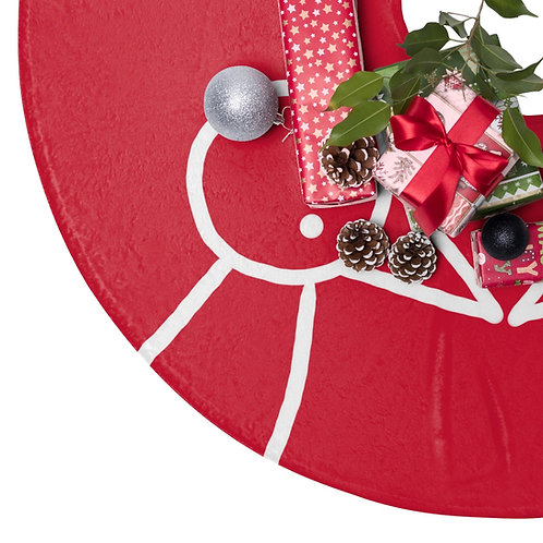 Muli Christmas Tree Skirt | couples