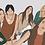 Thumbnail: 5 person customized illustration