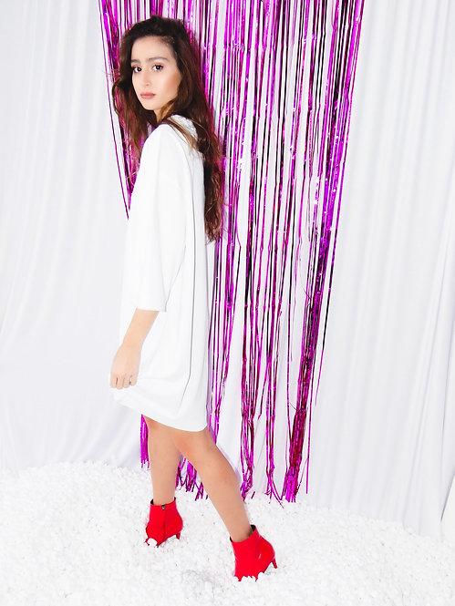 שמלת פולו אוברסייז