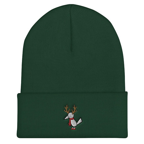 Green Holiday Muli beanie