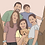 Thumbnail: 6 person customized illustration