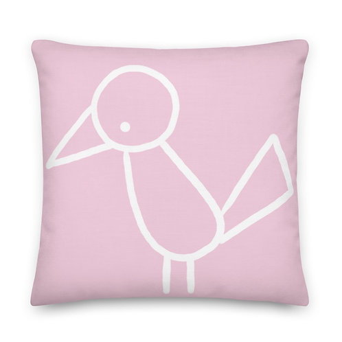 Decorative Pillow + insert included | pink pillow