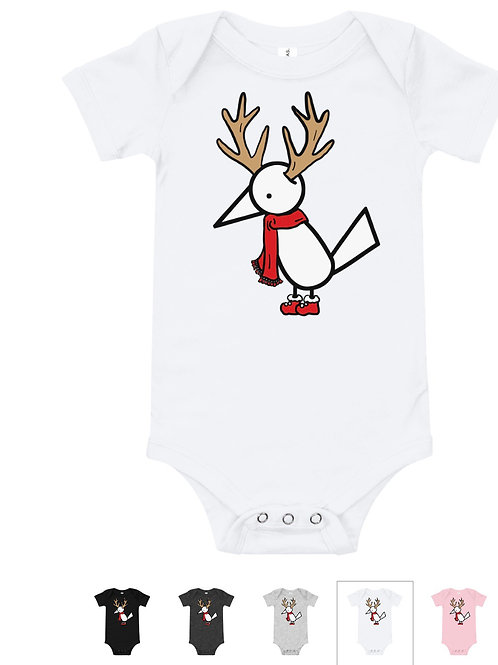 White Holiday Muli Baby Bodysuit