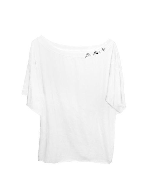 White tunic shirt