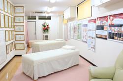 Sala de estudos e massagem