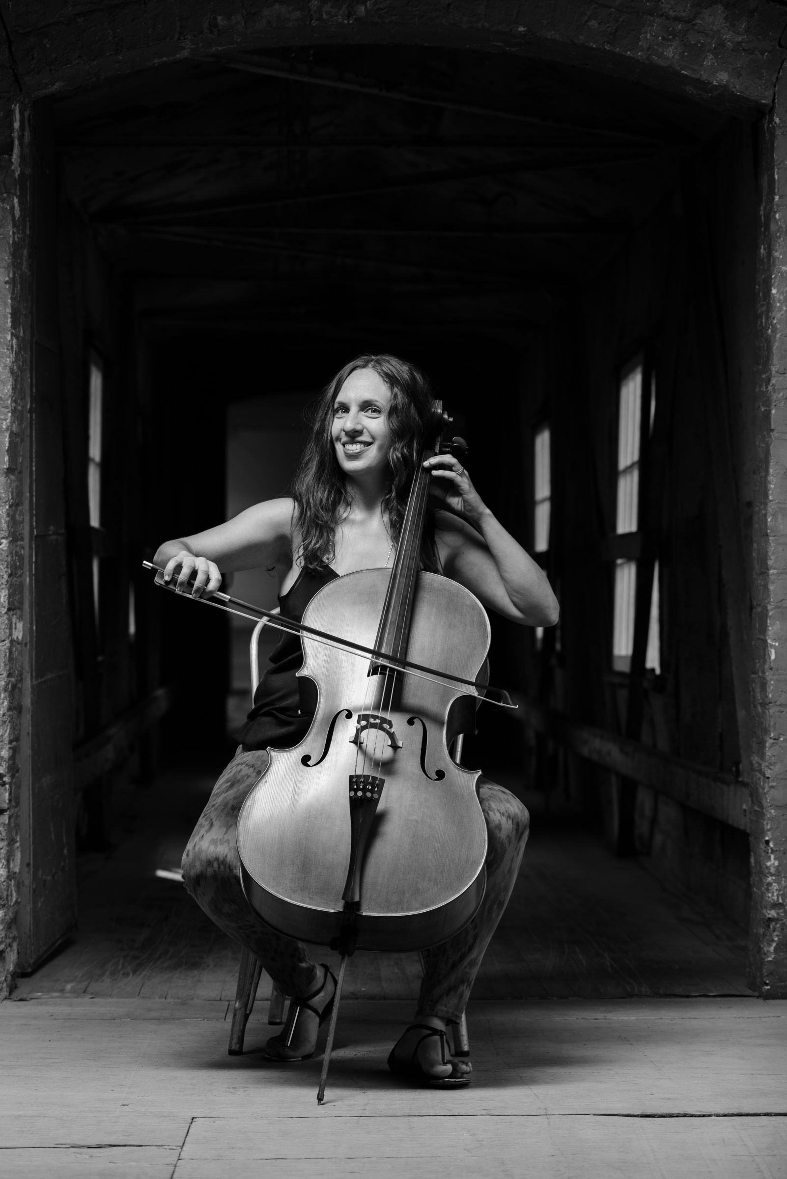 Lauren Radnofsky, cellist