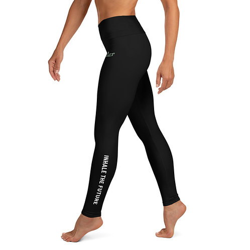 Inhale The Future, Exhale The Past Leggings