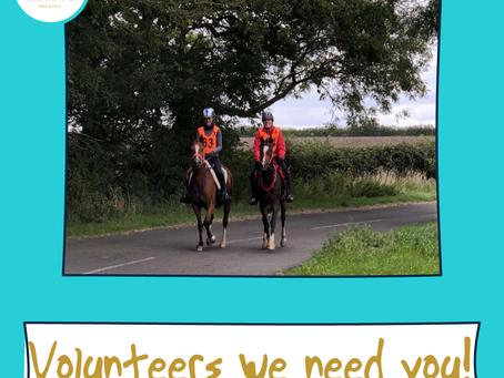 Call for volunteers at Keysoe