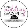 UKWedding Awards Shortlisted Badge 2019.
