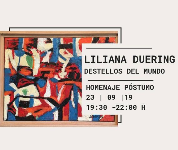 Liliana Duering, homenaje póstumo