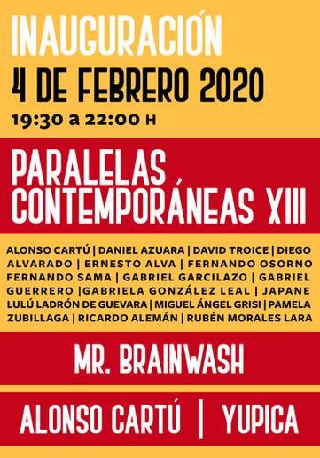 Paralelas contemporáneas XIII   Mr. Brainwash   Alonso Cartú   Yupica