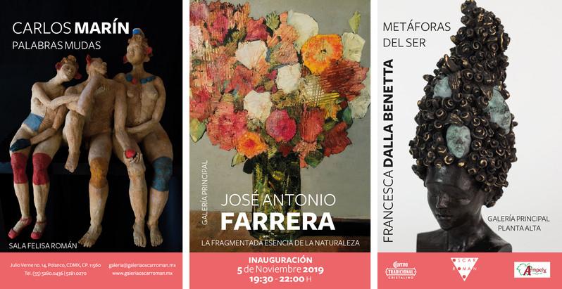 Carlos Marín | José Antonio Farrera | Francesca Dalla Benetta